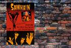 "SAMHAIN III poster NCF cool AF display w/ ""your"" vinyl Plan 9 Danzig"