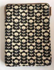 New Belkin Orla Kiely ipad air sleeve black cream sweetpea floral zipper case