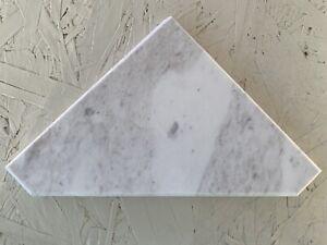 "6""x6"" Marble Shower Soap Corner Shelf"