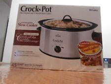 Rival 4.5 Quart Crock Pot