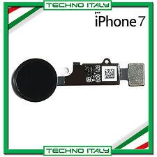 IPHONE 7 7G NERO FLAT FLEX TASTO HOME TOUCH