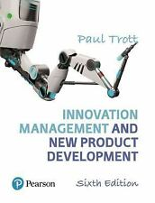 Innovation Management and New Product Development by Paul Trott (2017,...