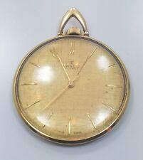 Great Mid Century Modern Gold Plate Lanco 17 Jewels Pocket Watch