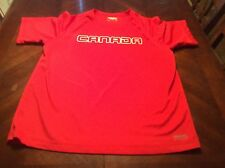 Running Room Red Canada Fit Wear Jersey Shirt Size Mens L