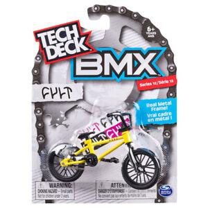 Tech Deck BMX Series 12 Cult Yellow Finger Toy