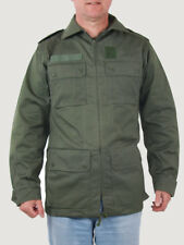 MEN MILITARY ARMY JACKET MEDIUM GREEN COAT FRENCH AIR FORCE 92 cm Chest