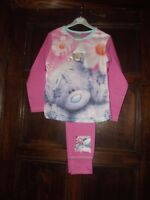GIRLS ME TO YOU TATTY TEDDY PINK/LILAC QUALITY PYJAMA AGE 5/6 7/8 9/10 11/12 YR