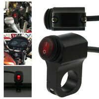 Motorcycle Handlebar Light On Off Switch Waterproof ATV Headlight Fog Spot A8A