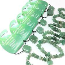 12 x Green Aventurine Gemstone 'Motivation' Bracelet & Pendant WHOLESALE S10