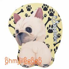 Bigdaner 3D Mouse pad French bulldog Wrist Rest Play Mats Anime Dog Mats Present
