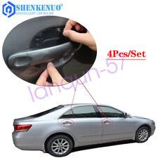 4Pcs Invisible Clear Car Door Handle Guard Film Sheet Paint Scratch Protector