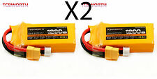 2PC Lipo battery 3S 11.1V 1200mAh 30C RC Helicopter Airplane Boat Quadcopter