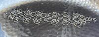 Vintage Silver ? Filigree Decorative Wire Style Wide Bracelet