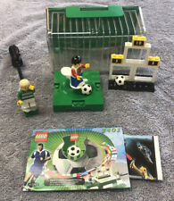 3401 LEGO Complete Sports Football Shoot 'n' Score carry case lid soccer set