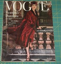 November Vogue 1955 Rare Vintage Vanity Fair Fashion Design Collection Magazine