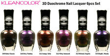 KLEANCOLOR 3D DUOCHROME Nail Polish Set of 6 Nail Lacquer 15 ml Bottles NEW