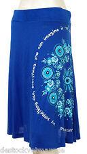 DESIGUAL Jupe femme Fal Cable 51F28A5 coloris 5010 bleu royal