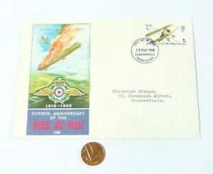1968 50th Anniversary of the Royal Air Force RAF FDC