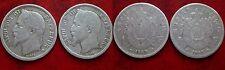2 pièces de 1F 1868 BB - grand et petit BB - grosse côte - piece recherchée