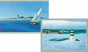 Caspari Boxed Note Cards, Scenes from America, Box of 8 (64607.46)