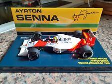 Minichamps 1:43 McLaren MP4/5B Ayrton Senna - Winner Monaco GP 1990 (Marlboro)