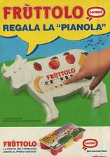 X2308 LOCATELLI - Fruttolo regala la pianola - Pubblicità 1990 - Advertising