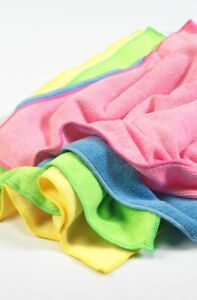 Cloths Value 40 Pack. Eco-wipe Microfibre. 40x40cm multi-purpose cleaning