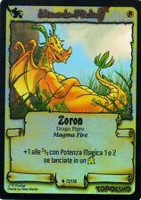 WIZARDS OF MICKEY Zoron 12/150 FOIL LE ORIGINI ITA NEAR MINT