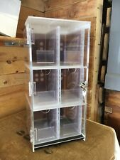 Havana Cigars Counter Top Acrylic Lockable Display Cabinet  Retail Shop Display