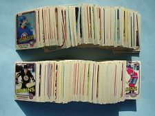 1981/82 O-PEE-CHEE NHL 396 HOCKEY CARD SET EX- NICE PAUL COFFEY ROOKIE 81/82 OPC