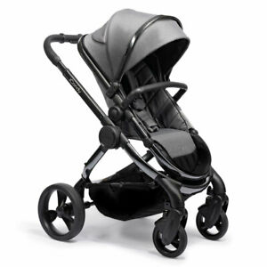 iCandy Peach Pram Puschair in Phantom Dark Grey Twill RRP:£999- B-Graded