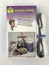 Green Sneakers Kreate-a-bag Deluxe As Seen on TV VHS Instructional Video Tape