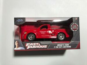 JADA FAST AND FURIOUS - Brian's FORD F-150 SVT LIGHTNING - 1:32 Scale- FREE SHIP
