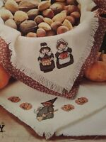 Leisure Arts BREAD CLOTHS FOR CELEBRATIONS Cross Stitch Patterns Holidays #728