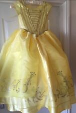 Beauty and Beast Belle Golden Costume Disney New Movie Princess age 7/8 years