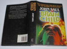 John Saul Brain Child 1st Uk Hardcover Edition in D/J 1986