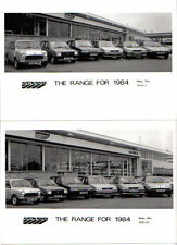 Austin Rover Range Mini Metro Maestro Montego SD1 x 2 b/w Press Photos 1984