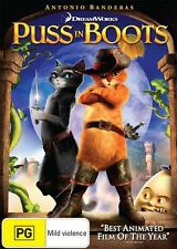 Puss in Boots NEW R4 DVD