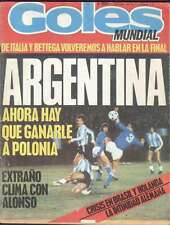 Goles Magazine Argentina Soccer World Cup 1978 Nº1535