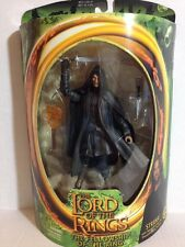 STRIDER SWORD DRAWING SLASHING ACTION LORD OF THE RINGS TOLKIEN TOY BIZ RARE