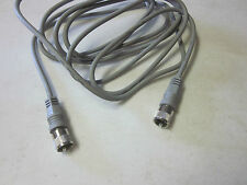 12 ft CB ANTENNA HAM RADIO GRAY MINI 8 COAXIAL COAX CABLE PL-259 CONNECTOR ENDS