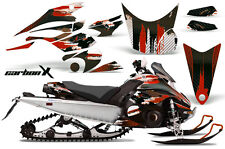 Snowmobile Graphics Kit Decal Sticker Wrap For Yamaha FX Nytro 08-14 CARBONX RED