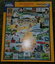 White Mountain Puzzle, Michigan, The Great Lakes State, 1000 Pieces, No. 127