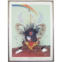 """The Flower of Life"" By Rance Hood Signed Limited Edition #441/1500 Lithograph"