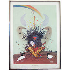 """""""The Flower of Life"""" By Rance Hood Signed Limited Edition #441/1500 Lithograph"""
