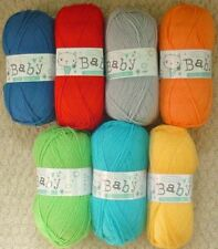 DK Acrylic Unit Crocheting & Knitting Yarns