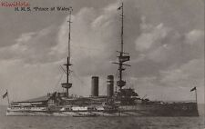 Postcard Ship HMS Prince of Wales