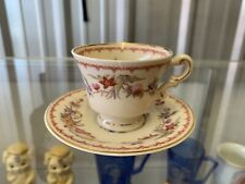 Old Ivory Syracuse China Teacup & Saucer Set