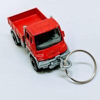 2019 Matchbox MBX Construction Mercedes Benz Unimog U300 Diecast Keychain Gift