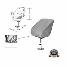 "Boat Seat Cover Helm / Helmsman / Bucket Seat Storage Cover  21""D x 24""W x 24""H"